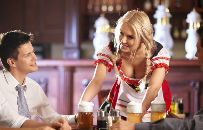 hire topless waitresses in Sydney