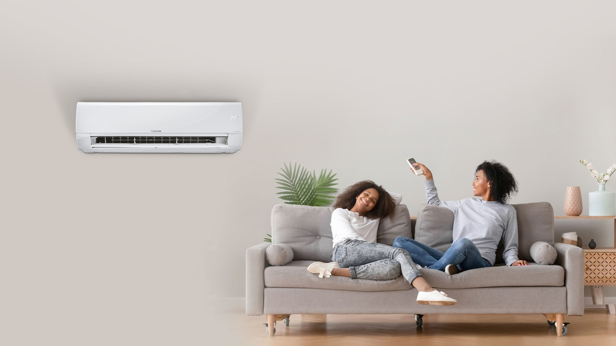 Air conditioners keep you cosy in all time